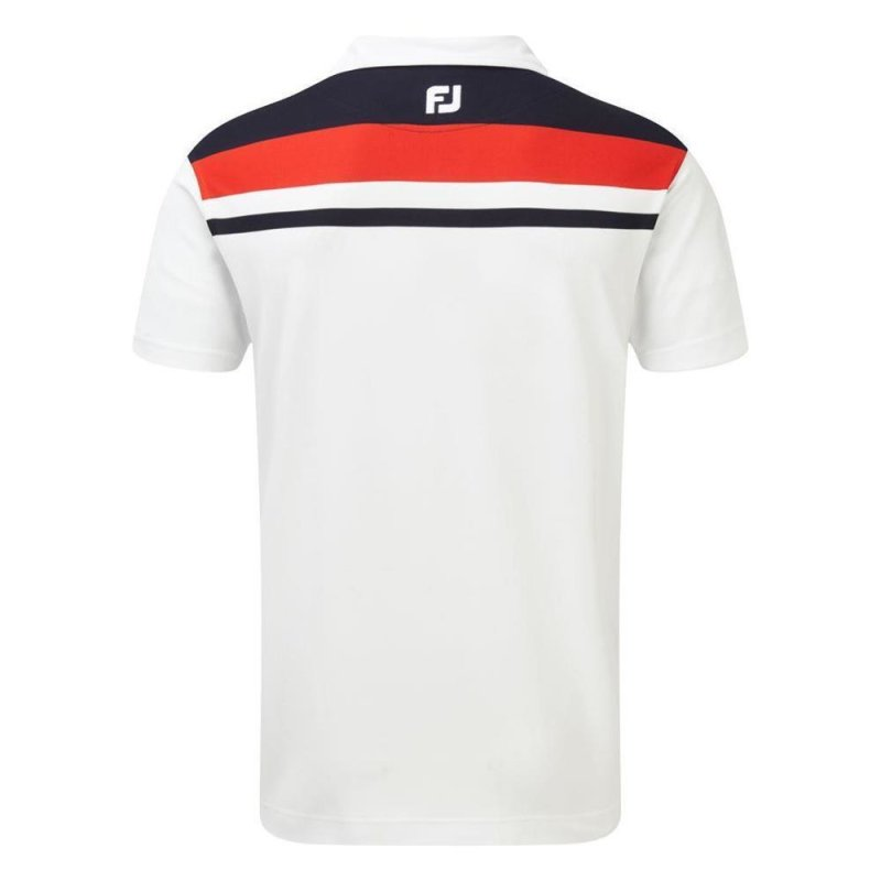 FootJoy Stretch Pikee mit Farbblockmuster Polo Herren