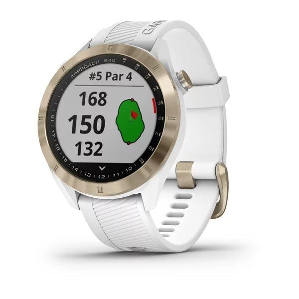 Garmin Approach S40 Premium GPS Golf-Uhr