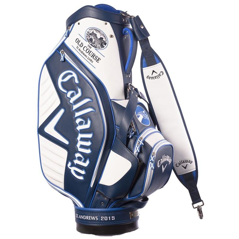 Callaway Major Staff Juli 2015 Cartbag LIMITED EDITION Old Course OPEN