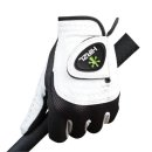 Hirzl Trust Control 2.0 Golf-Handschuh Herren | LH silberweiß-schwarz L