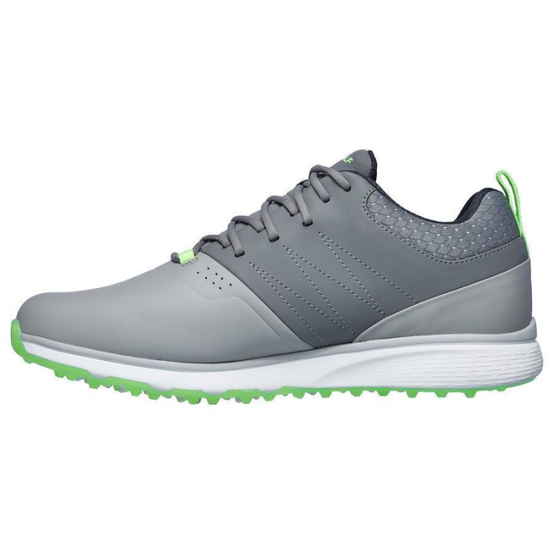 Skechers Mojo Elite Punch Shot Golf-Schuhe Herren | grau-lime EU 46