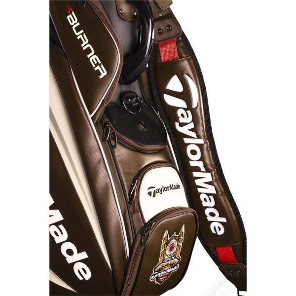 "TaylorMade Major Open Championship 2010 Tour Bag ""R9 Burner"" LIMITED EDITION"