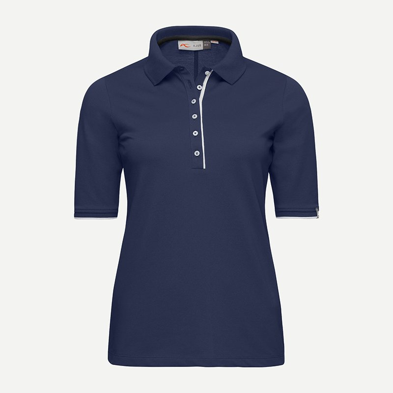 KJUS Women Sanna Polo 3/4 | atlanta blue 40