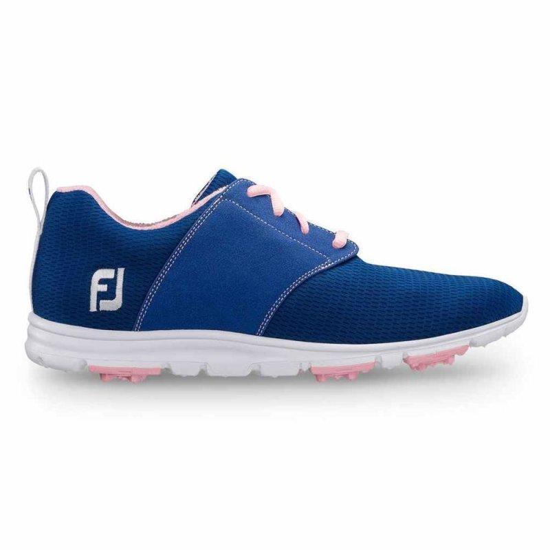 FootJoy enJoy Golf-Schuhe Damen   medium blau-rosa EU 38