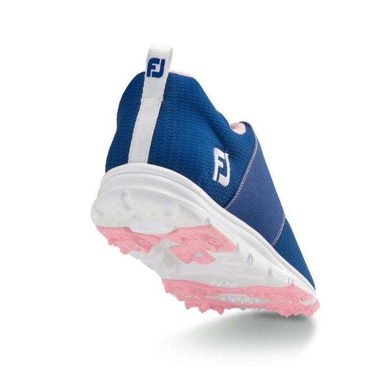 FootJoy enJoy Golf-Schuhe Damen | medium blau-rosa EU 38,5