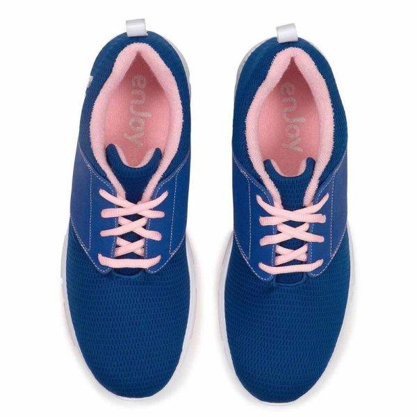 FootJoy enJoy Golf-Schuhe Damen | medium blau-rosa EU 40