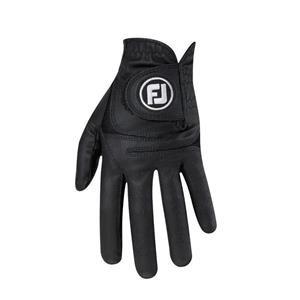 FootJoy WeatherSof Golf-Handschuh Herren | schwarz LH XL