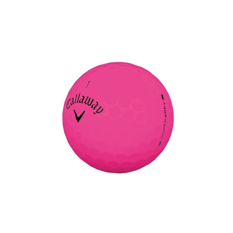 Callaway Supersoft 2019 Golf-Ball | pink matt 3er Pack