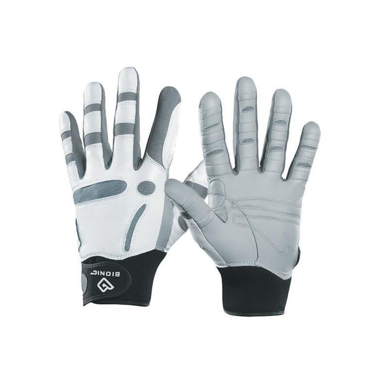 Bionic ReliefGrip Golf-Handschuh Herren | RH weiß-grau, schwarz M