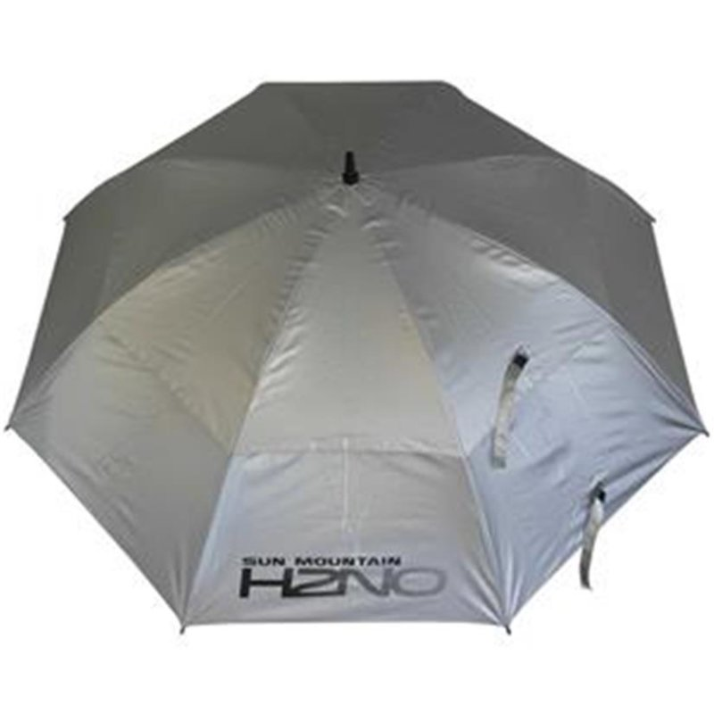 Sun Mountain UV-Proofed Golf-Regenschirm   silber