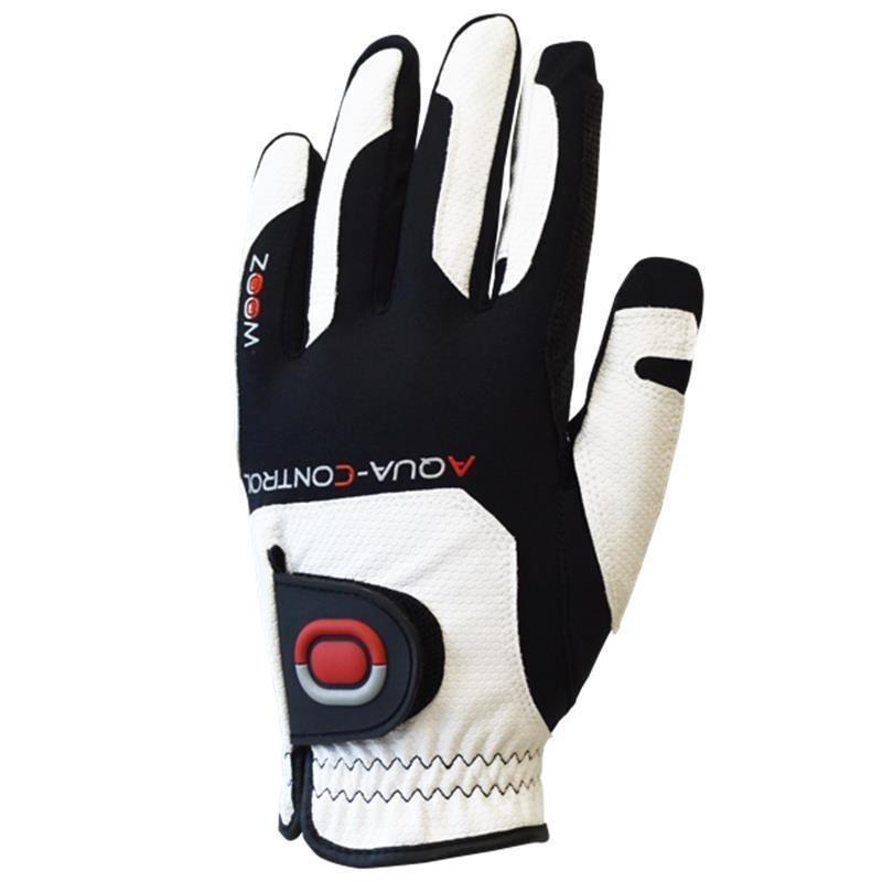 Zoom Aqua Control Golf-Handschuh   Herren RH one size weiß-schwarz-rot