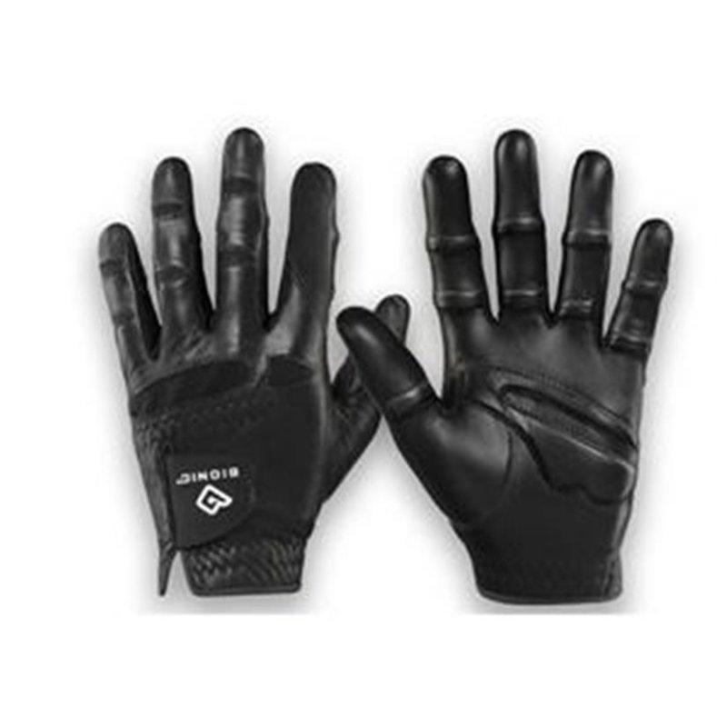 Bionic StableGrip Golf-Handschuh Herren   LH schwarz XL