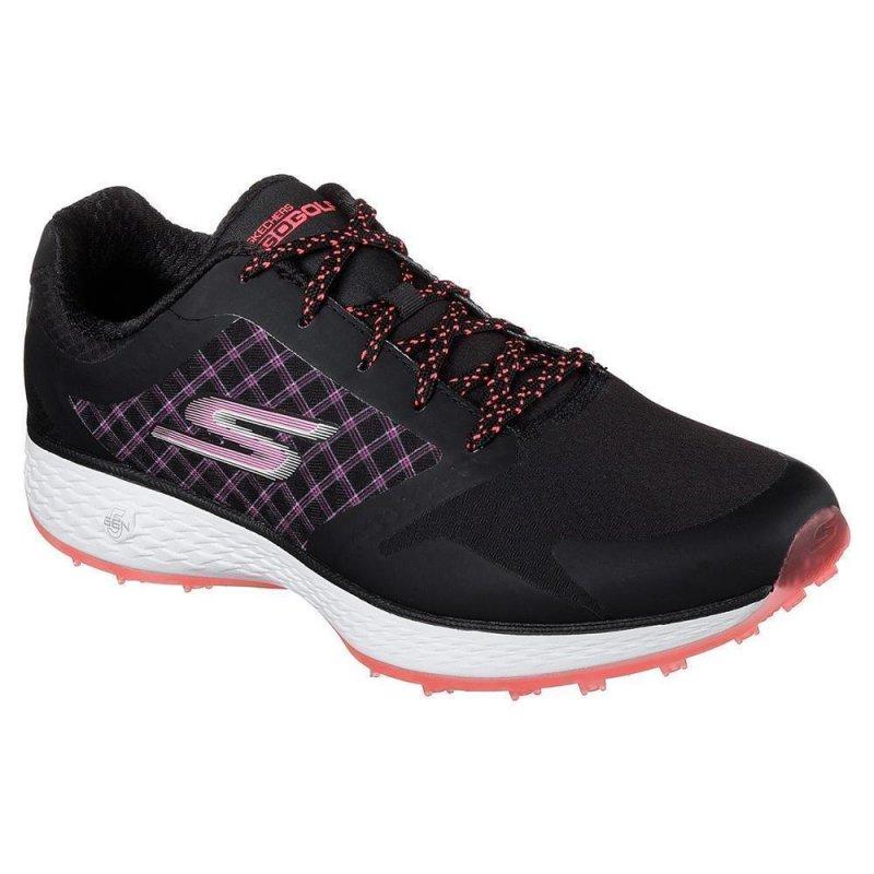 Skechers Go Golf Eagle-Rival Golf-Schuhe Damen | schwarz-pink EU 36,5