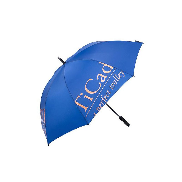TiCad Standard Golf-Schirm | blau ohne Stift