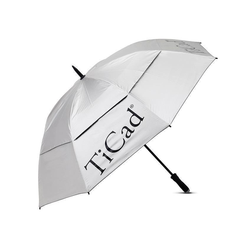 TiCad Windbuster Golf-Schirm | silber mit Stift