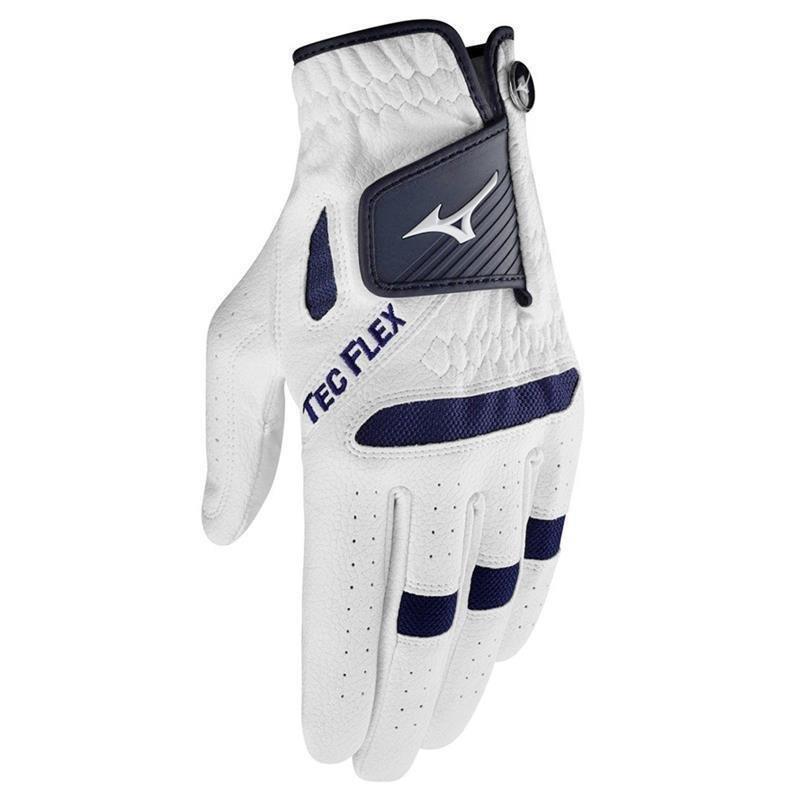 Mizuno Tec Flex Golf-Handschuh Damen | LH weiß-navy M