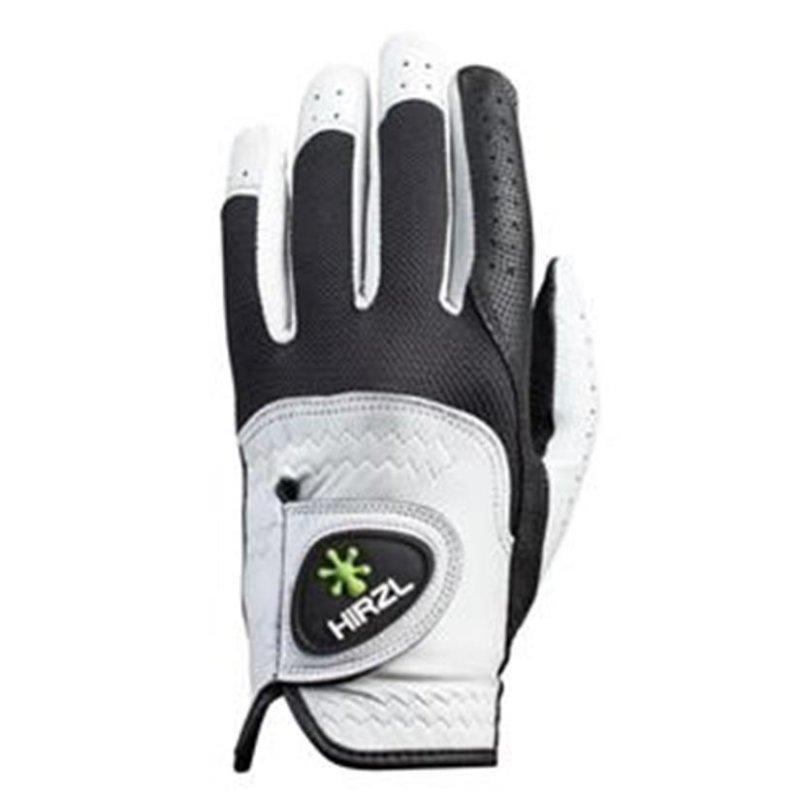 Hirzl Trust Control 2.0 Golf-Handschuh Damen   LH silberweiß-schwarz L