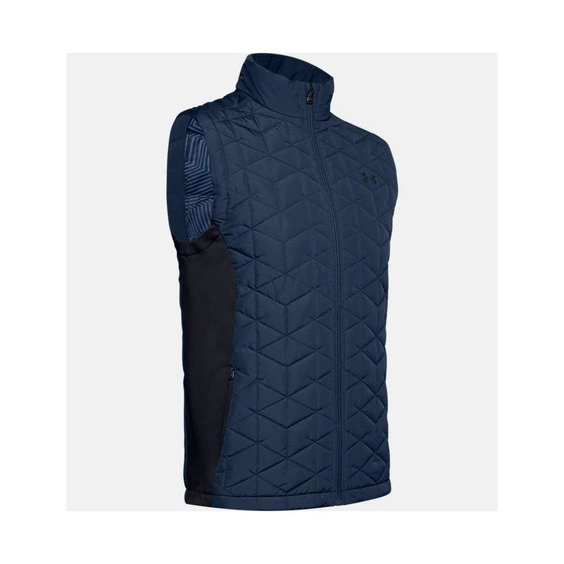 Under Armour Cold Gear Reactor Hybrid Golf-Weste Herren | navy M