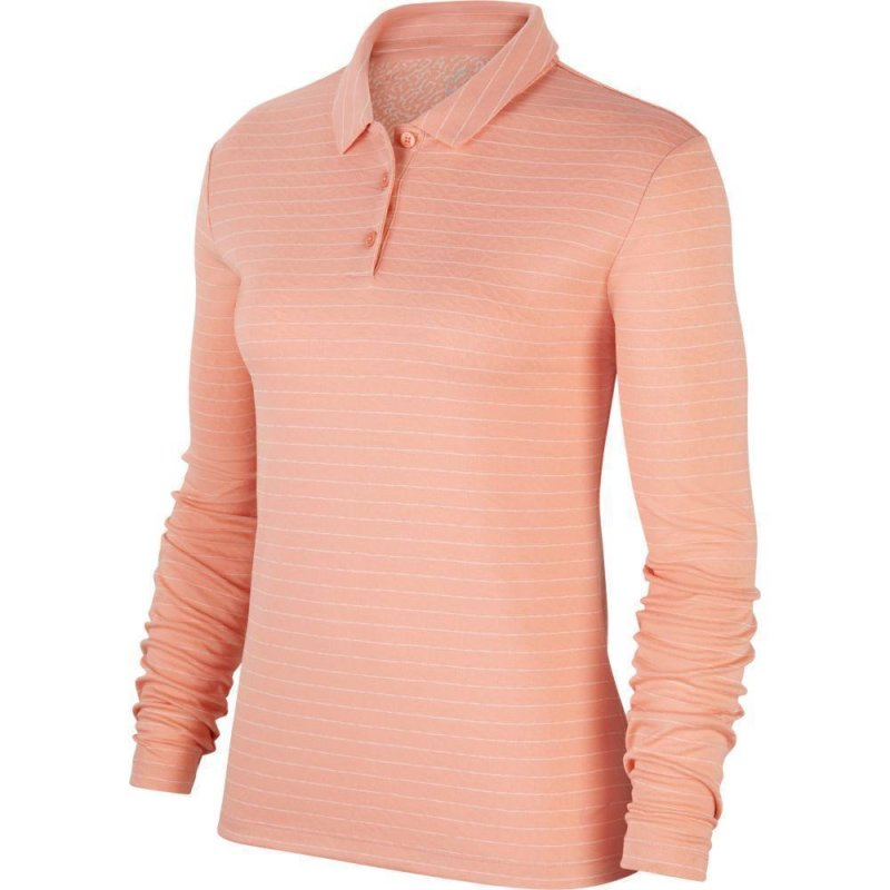 Nike Dri-FIT Longsleeve Polo Damen