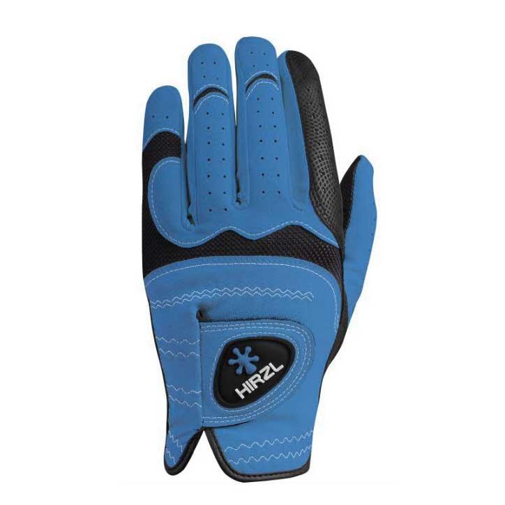 Hirzl Trust Hybrid plus+ Golf-Handschuh Damen | LH blau L
