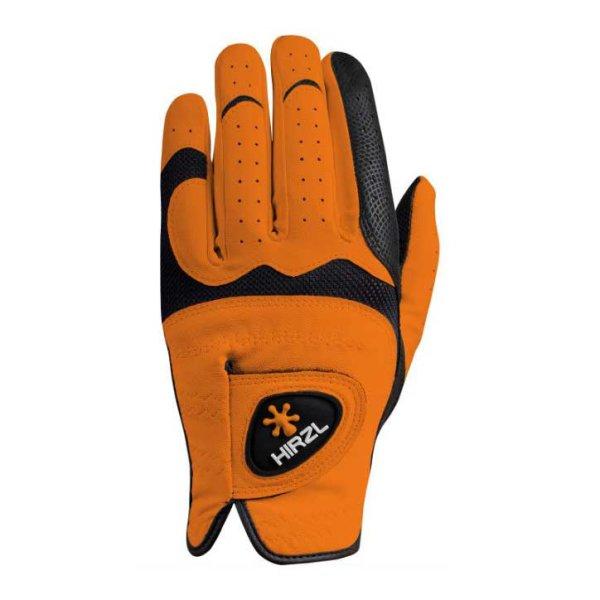 Hirzl Trust Hybrid plus+ Golf-Handschuh Damen | LH orange M
