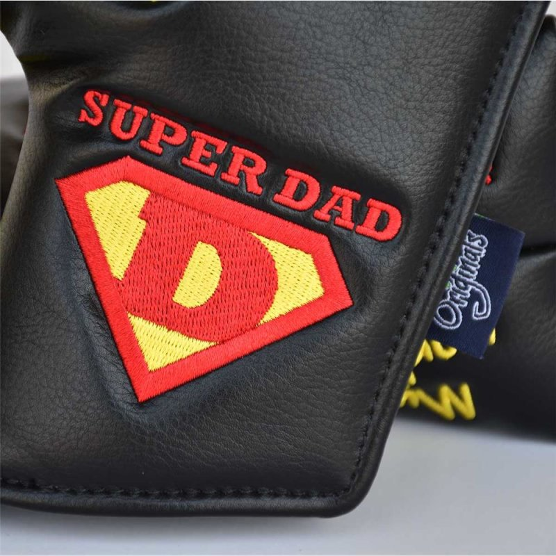 PRG Originals Super Dad Blade Putter Headcover | schwarz