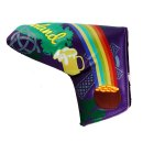 PRG Blade Putter Headcover Lucky Charm lila Berliner...