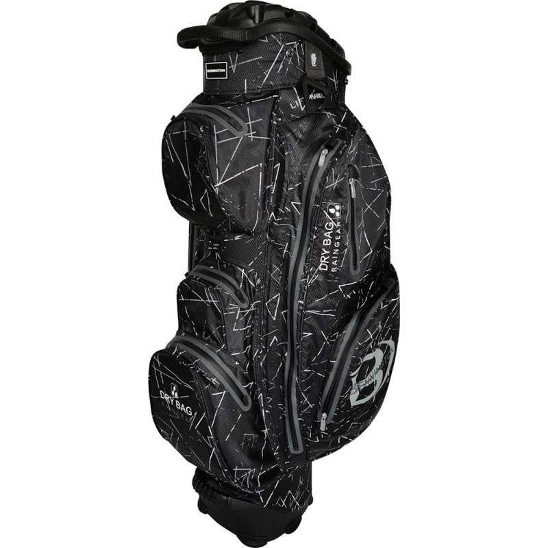 Bennington QO14 Sport Waterproof Cart-Bag | schwarz flash / grau