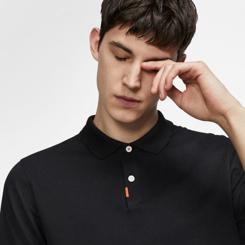 Nike The Nike Polo Slim Fit Polo Unisex | schwarz XXL