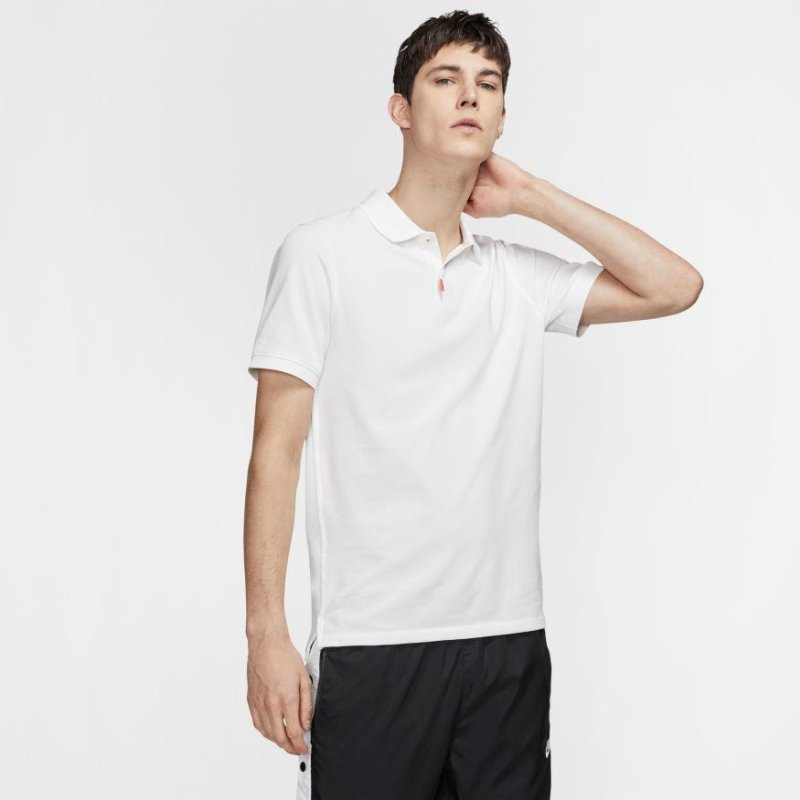 Nike The Nike Polo Slim Fit Polo Unisex | weiß S