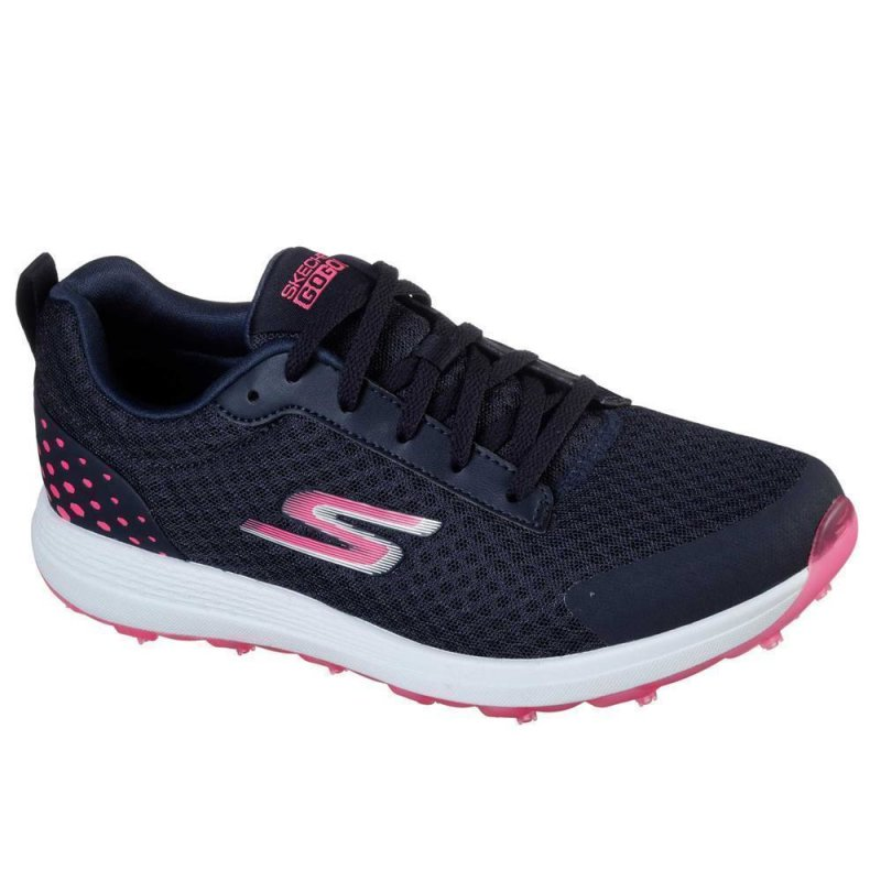 Skechers Go Golf MAX-Fairway 2 Golf-Schuhe Damen | navy-pink EU 38