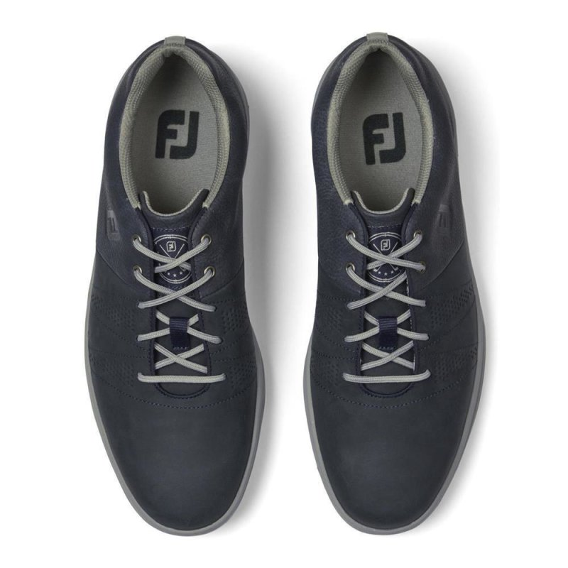 FootJoy Contour Casual Golf-Schuhe Herren | marine EU 46 Medium