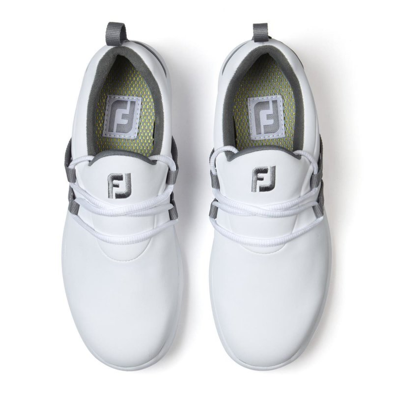 FootJoy Leisure Slip On Golf-Schuhe Damen | medium weiß-grau EU 36,5