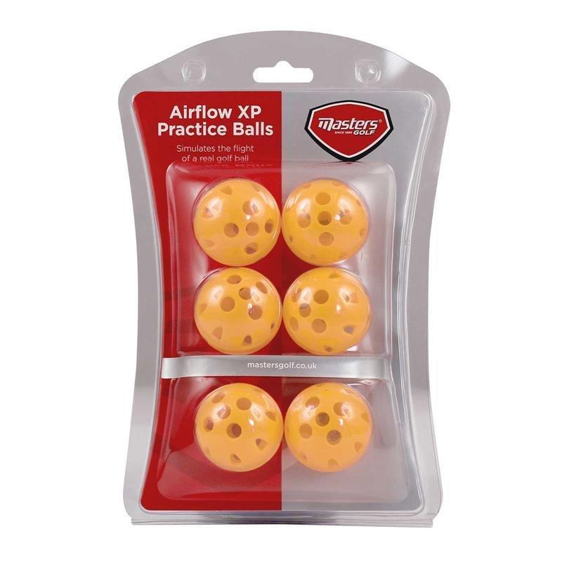 Masters Airflow XP Übungsbälle | gelb 6 Bälle
