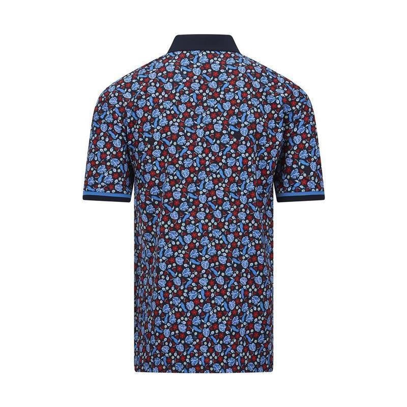 Penguin-Golf Pete in Paradise Golf-Polo Herren | black iris M