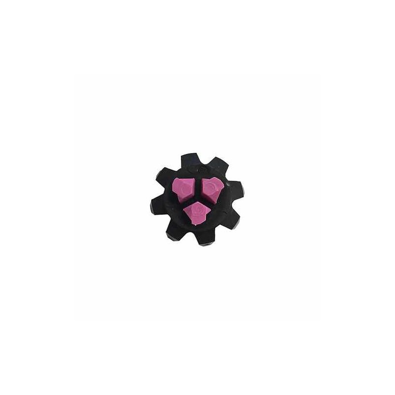 Softspikes Black Widow | Q-Fit | 16er Pack | schwarz-lila