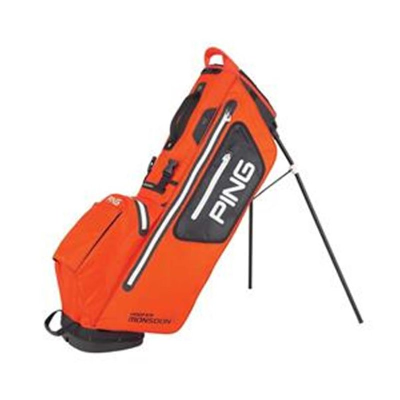 Ping Hoofer Monsoon Stand-Bag | atomic orange-black