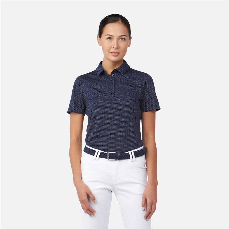 KJUS Eve Polo S/S Damen | atlanta blue 34
