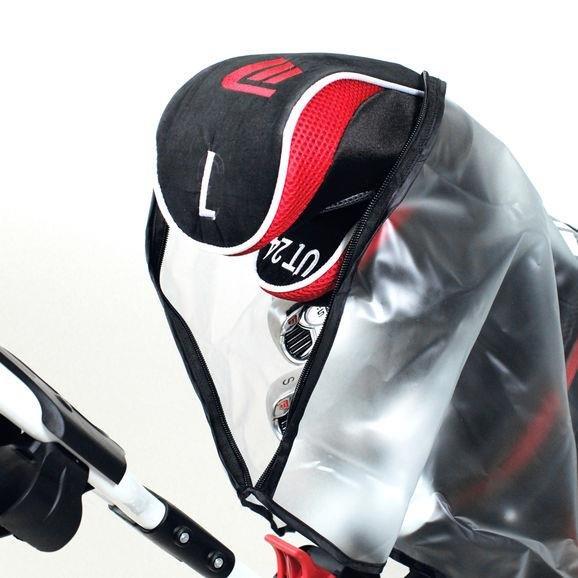 Masters Storm Golf Bag Cover Regenhaube   transparent